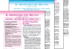 Raccolta dei Ministeri del -2015