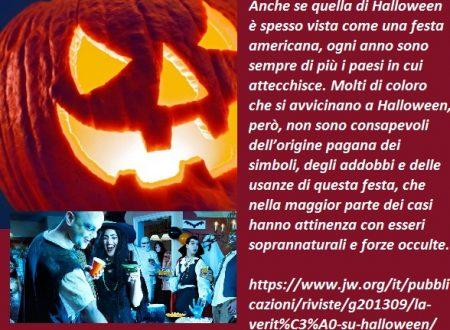 """IN COPERTINA  """"La verità su Halloween"""" !"""