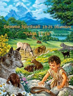 "Gemme Spirituali  19-25  Dicembre  ""ISAIA 11-16"""