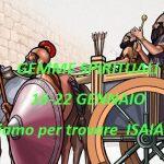 """GEMME SPIRITUALI  16-22 GENNAIO  """"Scaviamo per trovare  ISAIA 34-37"""""""