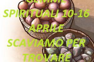 """(ora potete scaricare) GEMME SPIRITUALI 10-16 APRILE SCAVIAMO PER TROVARE  """"GEREMIA 22-24"""""""