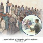 """Gemme Spirituali del 4 Settembre Scaviamo per trovare """"Ezechiele 42-45"""""""