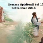 Gemme Spirituali del 10 Settembre 2018