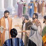 CAPITOLO 55 |  Molti si offendono per le parole di Gesù