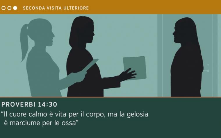 """○○● SECONDA VISITA ULTERIORE  Febbraio 2019 """" Proverbi 14:30 """""""