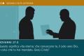 ○○● SECONDA VISITA ULTERIORE Aprile 2019  Domanda: Come possiamo dimostrare di essere grati per il sacrificio di riscatto  di Gesù?  Passo biblico: Giovanni 17:3  Collegamento: Cosa fanno i Testimoni di Geova alle loro riunioni?