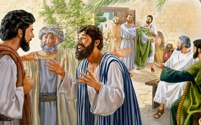 CAPITOLO   72       del 24-30 Giugno                                                                              Gesù manda 70 discepoli a predicare                                                     Luca 10:1-24                                                                                                            GESÙ SCEGLIE 70 DISCEPOLI E LI MANDA A PREDICARE