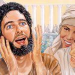 """CAPITOLO 70 – """"Gesù guarisce un uomo nato cieco"""" GIOVANNI 9:1-18  VIENE GUARITO UN MENDICANTE CIECO DALLA NASCITA"""