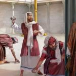 CAPITOLO 69  del 3-9 Giugno                                                                            Figli di Abraamo o figli del Diavolo?         GIOVANNI 8:37-59                                                                            ° I GIUDEI SOSTENGONO CHE IL LORO PADRE È ABRAAMO                                                                               ° GESÙ ESISTEVA ANCOR PRIMA DI ABRAAMO