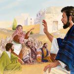 """CAPITOLO 75 Cosa rende davvero felici ?  Luca 11:14-36                                                                                                                    GESÙ ESPELLE I DEMÒNI GRAZIE AL """"DITO DI DIO""""                                           DA COSA DIPENDE LA VERA FELICITÀ?"""