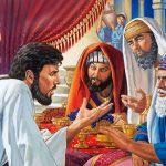CAPITOLO 76| del 22-28 Luglio                                                                               A pranzo da un fariseo Luca 11:37-54                                                          GESÙ CONDANNA I FARISEI PER LA LORO IPOCRISIA