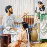 CAPITOLO 74|                                                                     Lezioni sull'ospitalità e sulla preghiera             LUCA 10:38–11:13                                                                                                                                                                    GESÙ VA A TROVARE MARTA E MARIA.                                                       L'IMPORTANZA DI CONTINUARE A PREGARE